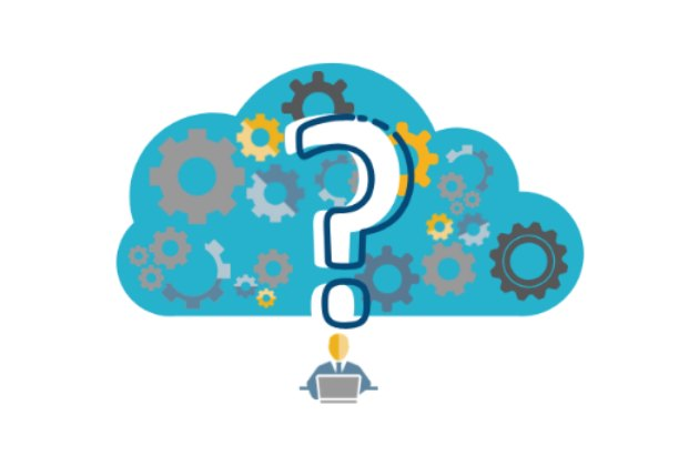 what is a cloud data lake - cloud with question mark inside