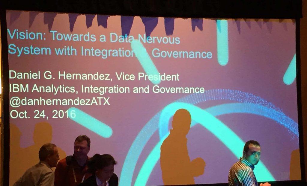 Data nervous system with integration & Governance