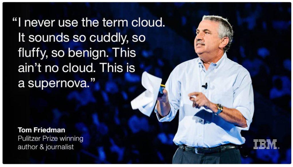 Tom Friedman- IBM