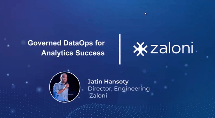 Governed DataOps for Analytics Success