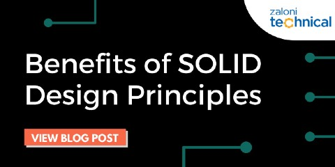 Benefits of SOLID Design Principles. What a beautiful S!