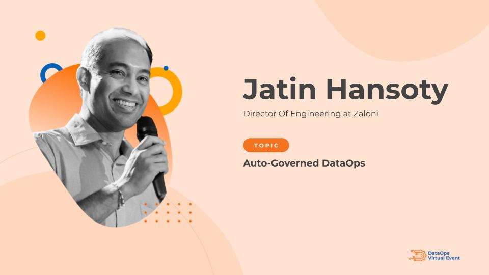 Auto-Governed DataOps